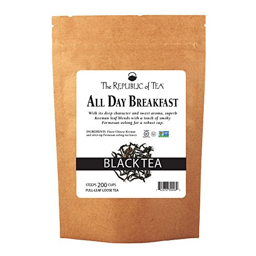 The Republic Of Tea All Day Breakfast Full-Leaf Tea, 1 Pound / 200 Cups