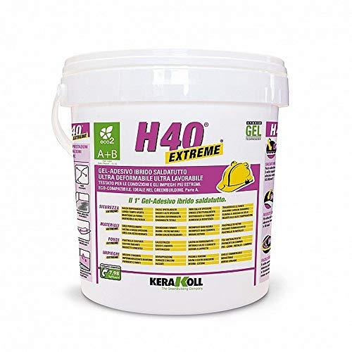 Gel adhesivo H40 A+B Extreme Eco 2 Kerakoll 10 kg