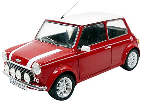 1997 Mini Cooper Sport Pack 1.3i Nightfire Red 1:18 Solido 1800602
