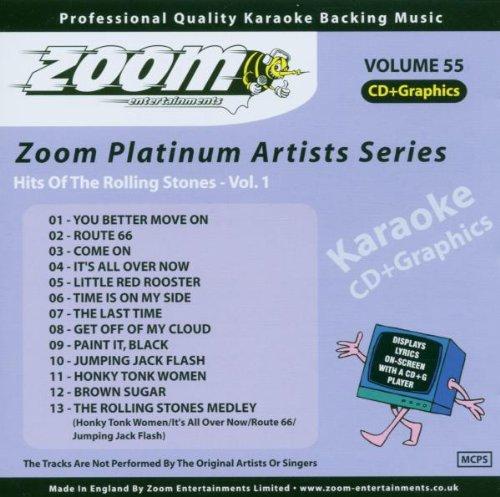 Zoom Karaoke CD+G - Platinum Artists 55: The Rolling Stones