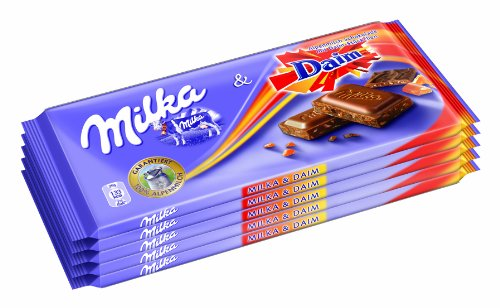 Milka Daim 100g 5er Pack