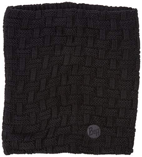Buff Airon Cache-Cou tricoté Polaire Mixte Adulte, Noir, FR Unique Fabricant : Taille One sizeque