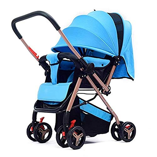 Amazing Deal Goquik Stroller, Lightweight Two-Way Stroller Can Be Seated Newborn Baby Folding Stroll...
