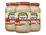 Heinz - Sandwichspread Naturel - 3 x 450 Gramm -