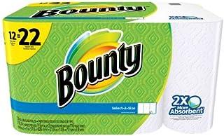 Bounty Paper Towels, Select-A-Size, 12 Super Rolls