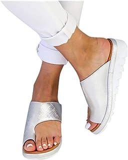 98ffa91ac689d0 Scarpe Donna Honestyi Ciabatte Comfy Piattaforma Sandali di Viaggio  Pantofole Set di Dita dei Piedi Infradito