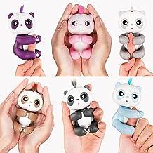 Kofun Finger-Panda-Spielzeug, ideales Weihnachtsgeschenk, interaktives Smart Pet 6 Colors