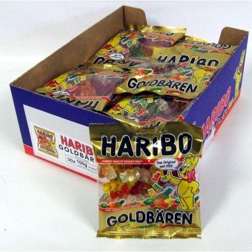 Haribo Goldbären Gummibärchen (30x 100g Beutel)