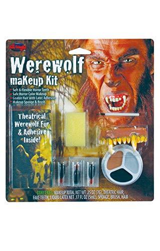 Horror-Shop Completa Maquillaje Hombre Lobo Kit