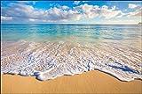 Muralo Fototapete Strand Meer Wellen 120 x 180 Vlies Wellen Sommer Landschaft - 98746021