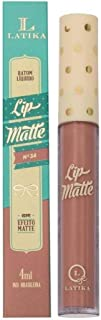 Batom Líquido Lip Matte - N° 34