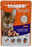 IAMS Delights Adult with Succulent Lamb & Liver In Jelly Comida para Gatos - 85 gr