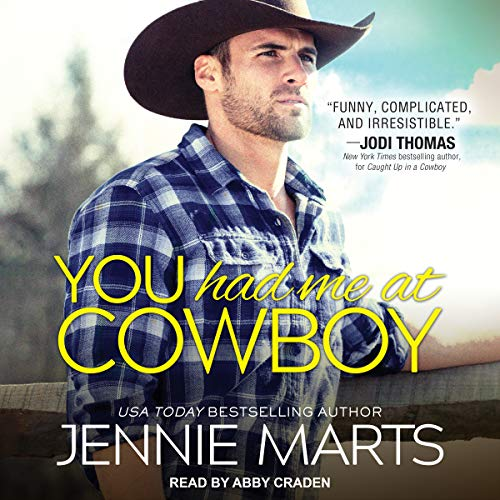 You Had Me at Cowboy audiobook cover art