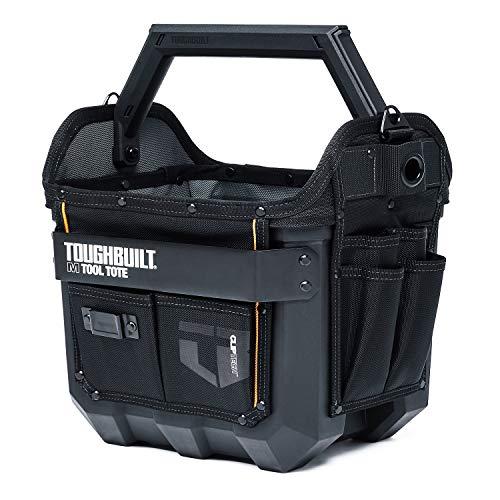ToughBuilt - 12 In Tool Tote w/Waterproof Base - Riveted Pocket Panels - TB-CT-82-12