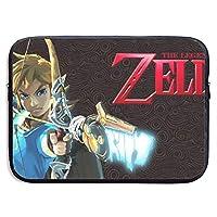 ノートpc ケース ゼルダの伝説 Legend Of Zelda 衝撃 保護ケース オシャレ メンズ/レディース ビジネス 出張 旅行 ブラック 通学 通勤
