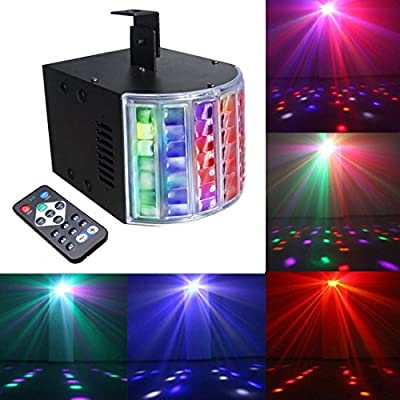 Mini Led Derby Lights Sbolight DJ Disco Party Lights for Stage Lighting With Remote Control for Dancing Christmas Gift Thanksgiving KTV Bar Vocal Concert Birthday