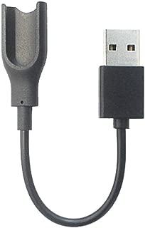 TopOne Adaptador USB Cargador Cable de Carga para Xiaomi Mi Band Pulsera Inteligente Negro
