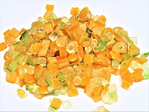 100g Orangeat und Zitronade Würfel Mischung (für Früchtebrot, Panettone)