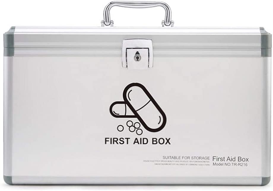 MXueei Directly 2021new shipping free shipping managed store Lockable 2 Layer Medical First Box Aid Emergency Med