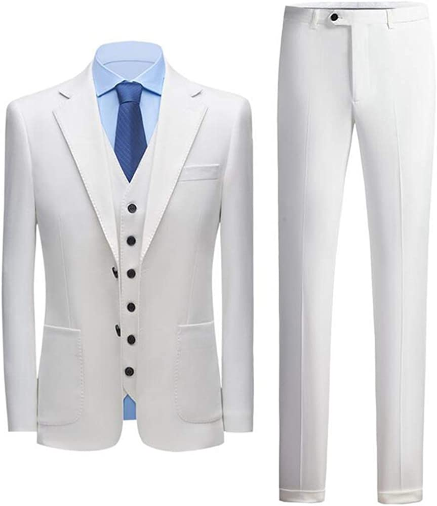 TOPG One 1 year warranty Button Men's 3 Pieces Suits Wedding Notch Direct stock discount G Lapel