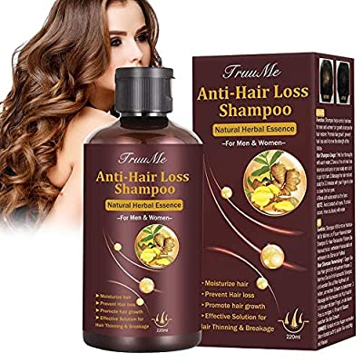 Hair Thickening Shampoo, Shampoo for Hair Growth, Hair Loss Shampoo, Hair Loss Treatment, Natural & Organic Herb Shampoo for Hair Regrowth Faster/Prevent Hair Loss