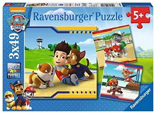 Ravensburger - 9369 - Lot de 3 Puzzles - Pat Patrouille - 49 Pièces