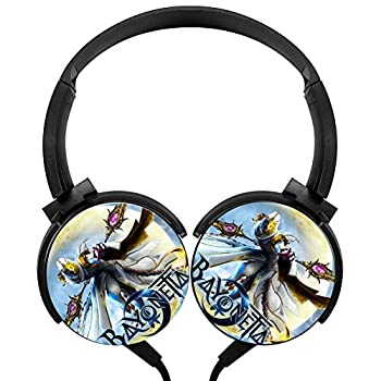 Headphones Lightweight with Mic Over Ear 3.5Mm Funny Bayonetta 2 Stereo Headsets for Girls