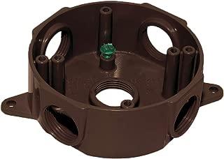 Sigma Electric, Bronze 143854BR 1/2-Inch 5 Hole Round Box