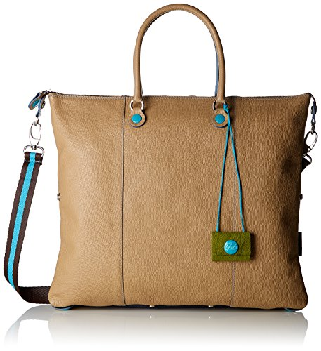 Gabs Damen G3 Tg L - Piatta Trasformabile Palmellato Business Tasche Beige (Sabbia)