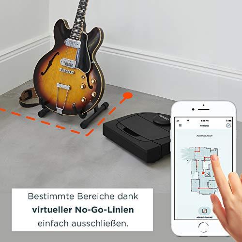 Neato Robotics Botvac D402 Connected – Saugroboter Alexa kompatibel & für Tierhaare – Automatischer Staubsauger Roboter mit Ladestation, Wlan & App - 2