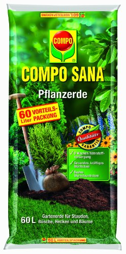 Compo 11654 Sana Pflanzerde Kultursubstrat 60 Liter
