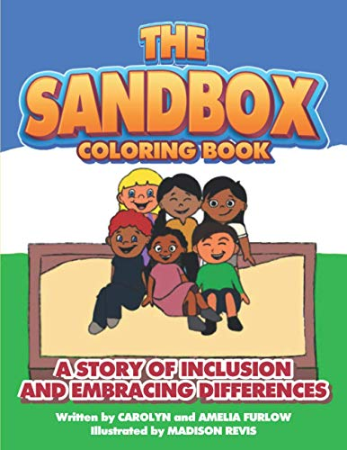 The Sandbox Coloring Book: A Story of Inclusion and Embracing Differences: 2