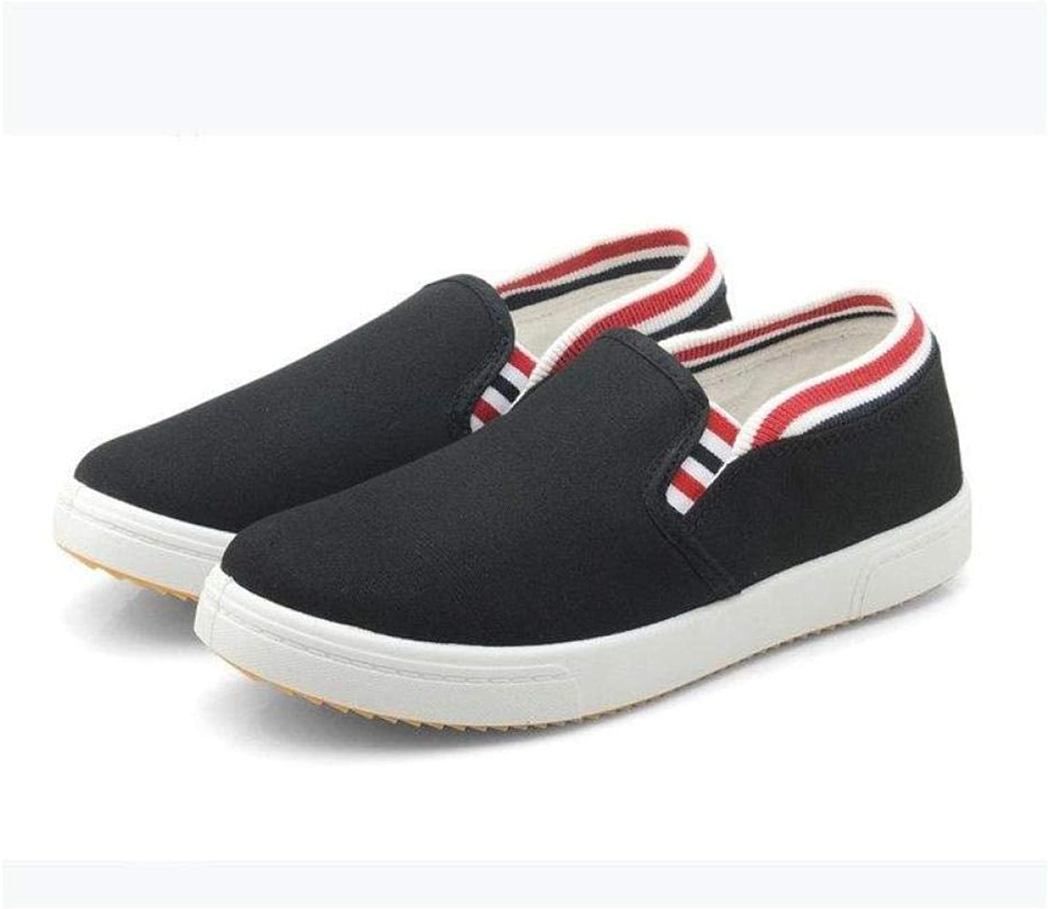 e0e34853bb1d6 Fashion Casual Slip On Loafers Athletic Flats Sneaker Canvas Sports ...