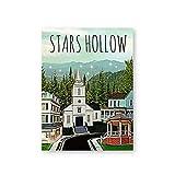 Poster und Kunstdrucke Stars Hollow Poster Inspiriert von
