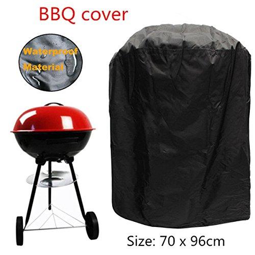 dDanke impermeabile copertura per barbecue 70*96cm poliestere rotondo barbecue copertura per esterni giardino patio grill protezione
