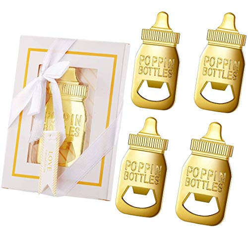 16pcs Gold Baby Bottle Openers