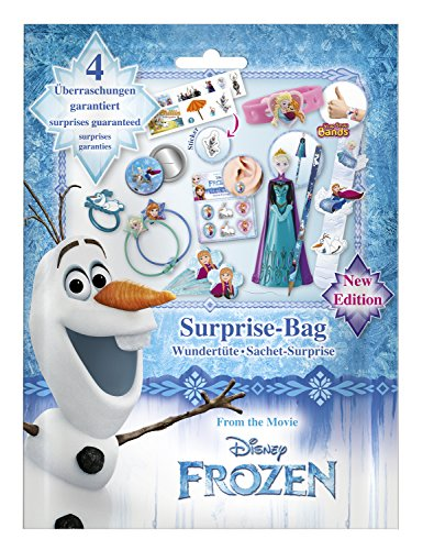 Craze The icequeen Wundertüte Surprise Bag Disney Frozen Die Eiskönigin 53646, bunt