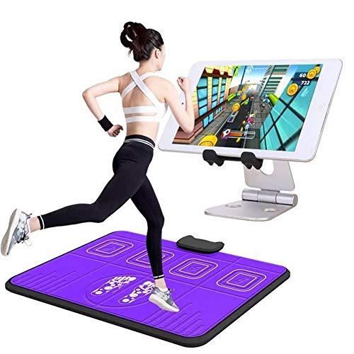 XYW Tanzmatte,Dekompression Laufen Übung Fitnessmaschine Tanzmatte Apple und Android Bluetooth Tanzender Teppich Single Player Mobile Spiel Büro Tanzmaschine