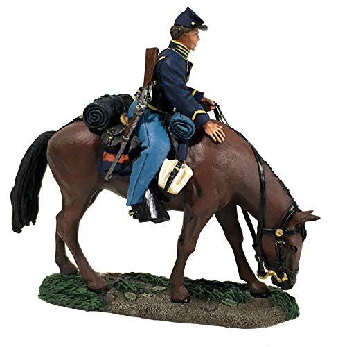 W.Britains American Civil War 31277 Union Federal Cavalry Trooper No.1 1:30 Scale Pewter