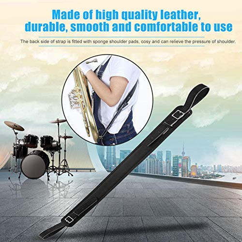 JULYKAI Bequemer weicher Tuba-Gurt, Schultergurt, für Tuba für Musikinstrumente