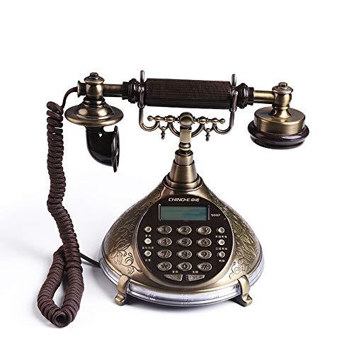 Téléphone - Support Ancien, Fixe européen Le siège Social à la Maison familiale, Appel Mains Libres, Voyant d'appel;