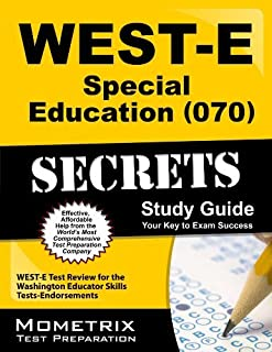 By WEST-E Exam Secrets Test Prep Team WEST-E Special Education (070) Secrets Study Guide: WEST-E Test Review for the Washington Educator S (Pap/Psc St) [Paperback]