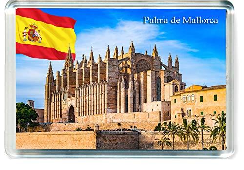 H290 Palma de Mallorca Imán para Nevera Spain Travel Fridge Magnet