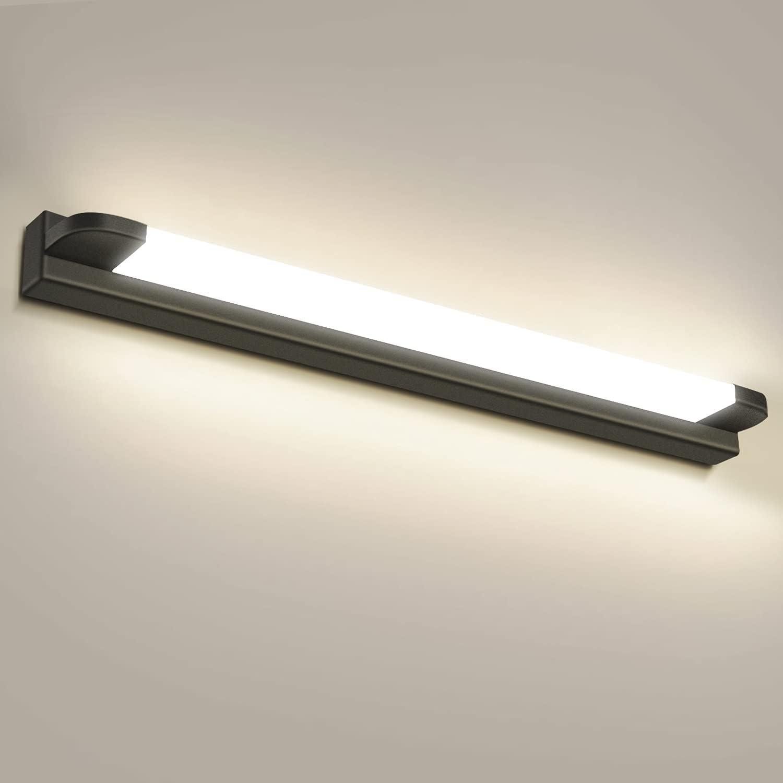 Kambo Spiegelleuchte LED 20W, IP20 Wandleuchte Badezimmer ...