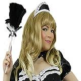 Yummy Bee - Gorro Disfraz Criada Francesa - Sombrero Disfraz Sirvienta Sexy - Fiestas de Disfraces Mujer - Rocky Horror Show