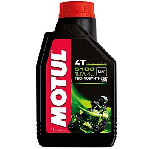 Motocicleta Motul 510010W404T 1litro Semi sintético para Lexmoto Venom 125