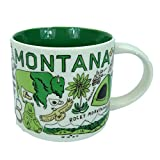 Starbucks MONTANA Been There Series Across the Globe Collection Coffee Mug 14 Ounce