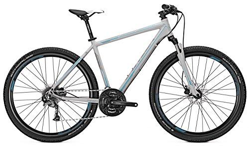 Crossbike Univega TERRENO 3.0 Herren 28' 24-Gang Scheibenbremse, Rahmenhöhen:60;Farben:Coolgrey matt