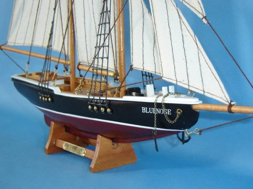 Hampton Nautical Bluenose Sailboat, 17""