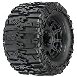 Pro-line Racing Trencher HP 3.8' Belted MT Tires, Raid Black Mounted 8x32 17mm Hex (2), PRO1015510